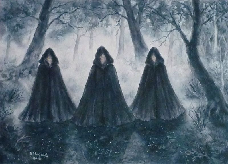 The Cloaked Figures