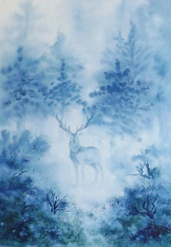The Stag in the Mist
