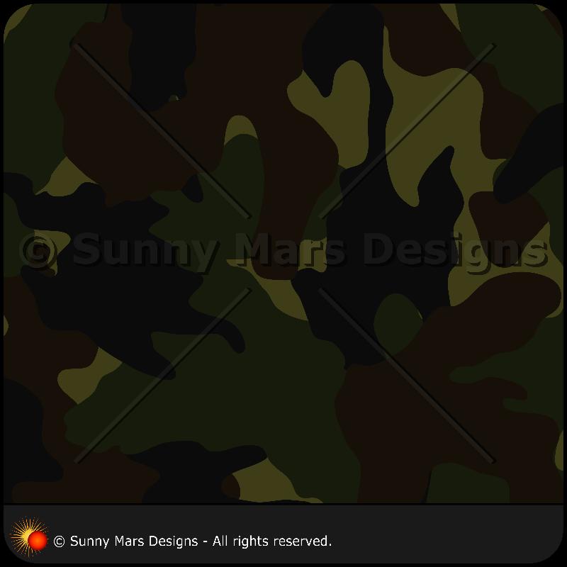 Dark Green Camo Pattern 2