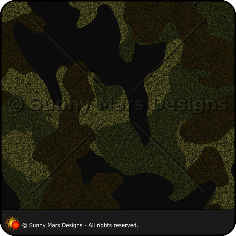Dark Green Camo Pattern