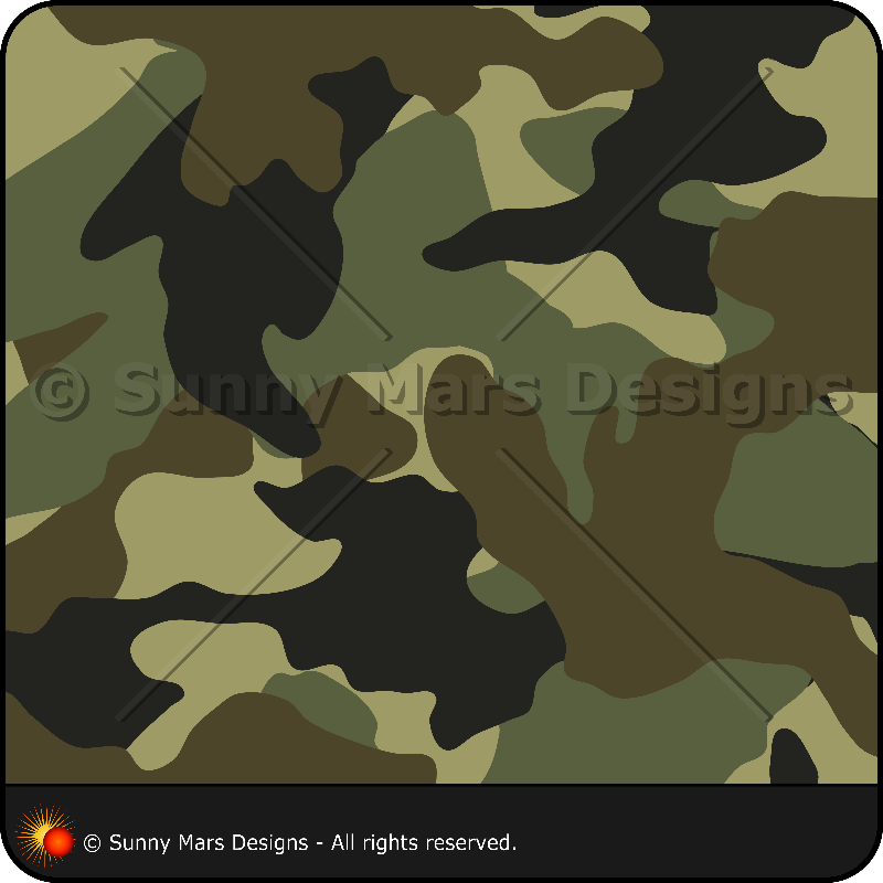Khaki Green Camo Pattern