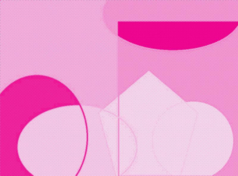 Pinky Abstract art