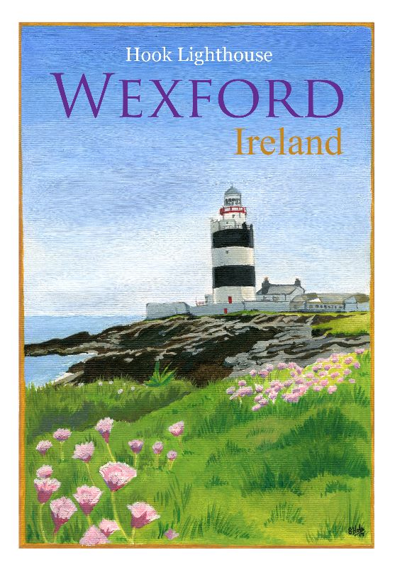 Wexford Travel Poster