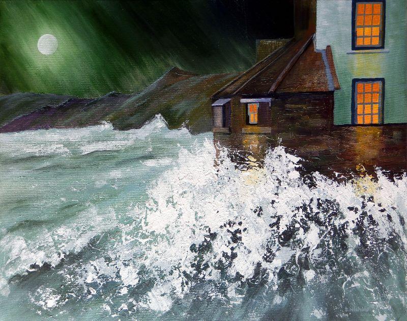 Crashing Waves at RH Bay