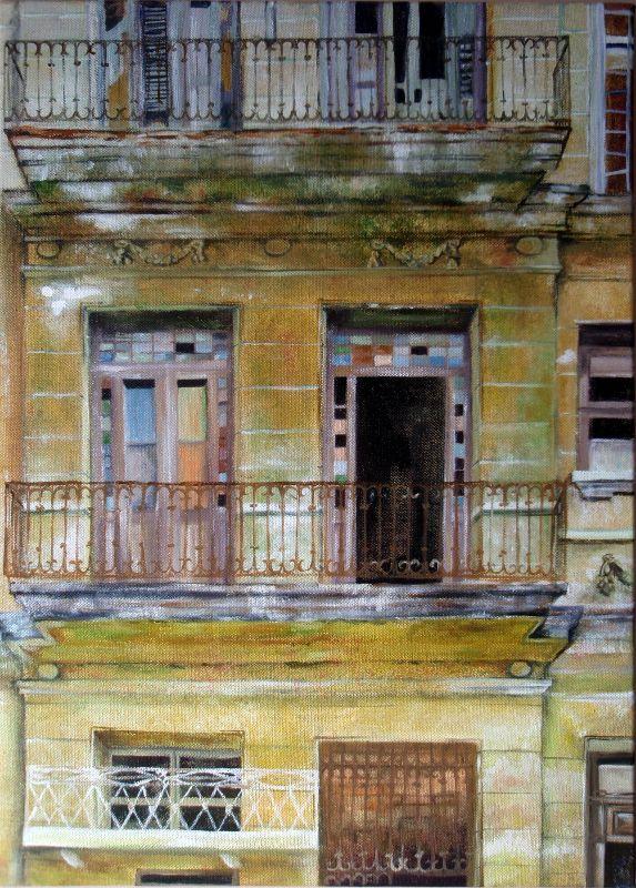 Decaying Havana Building