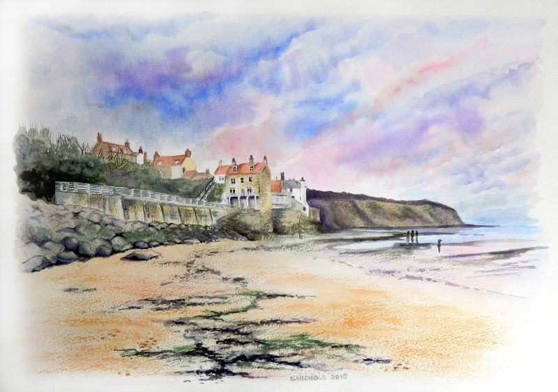 Robin Hoods Bay Sunset