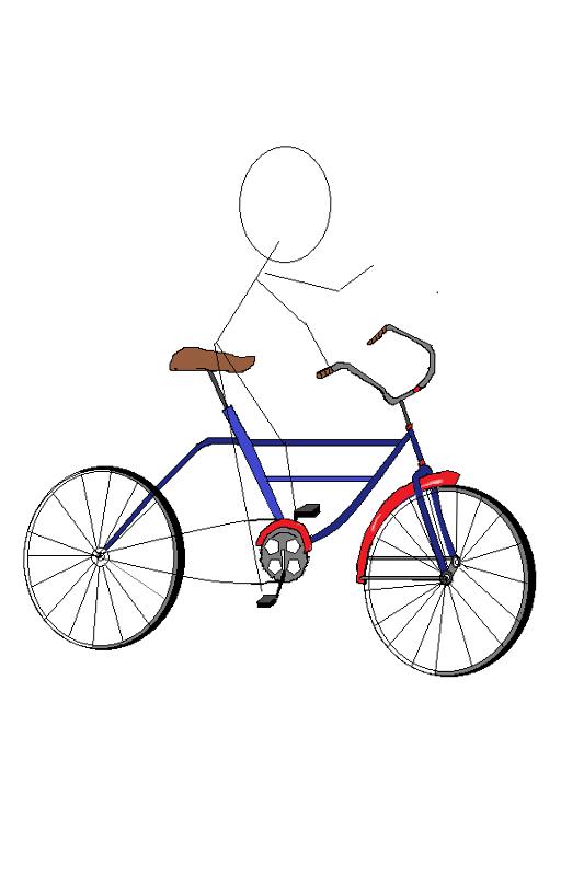 On Your Bike Illustration
