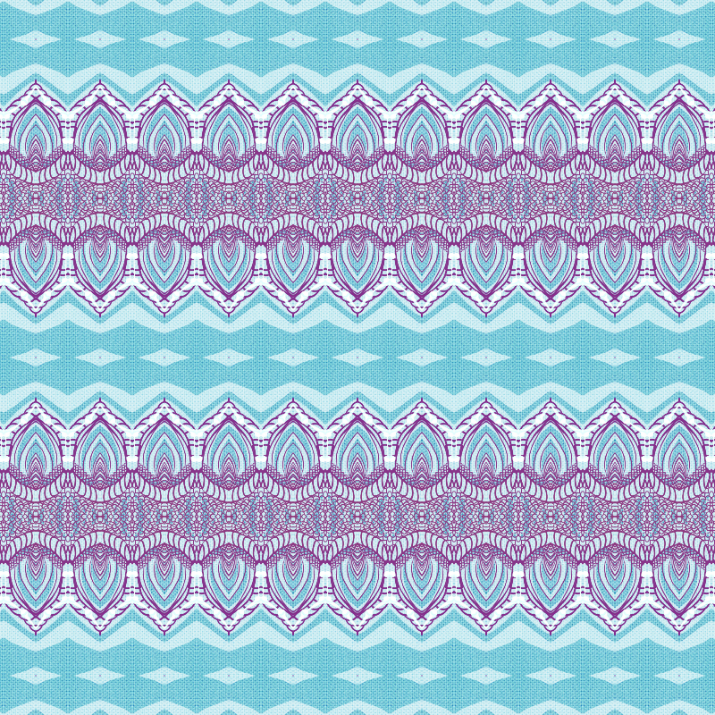 Blue and Line Pattern