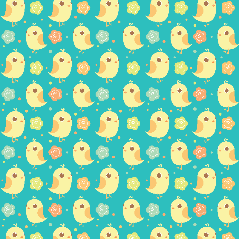 Cute Chicks Pattern