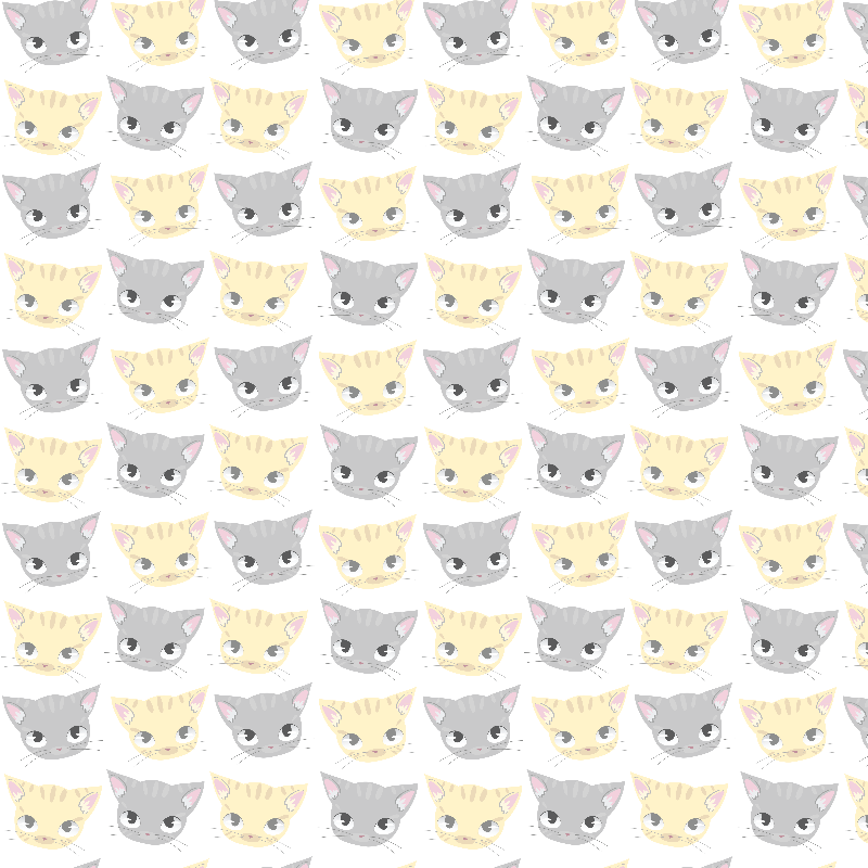 Cute Kitten Pattern