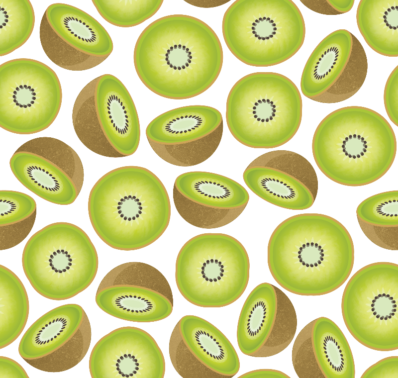 Cute Kiwi Pattern