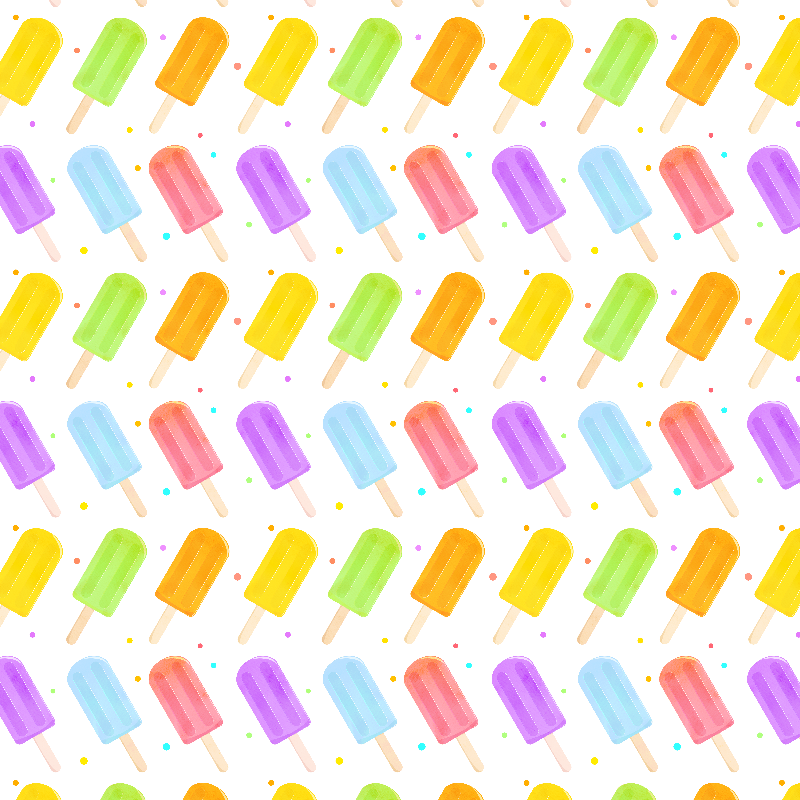 Summer Popsicles Pattern
