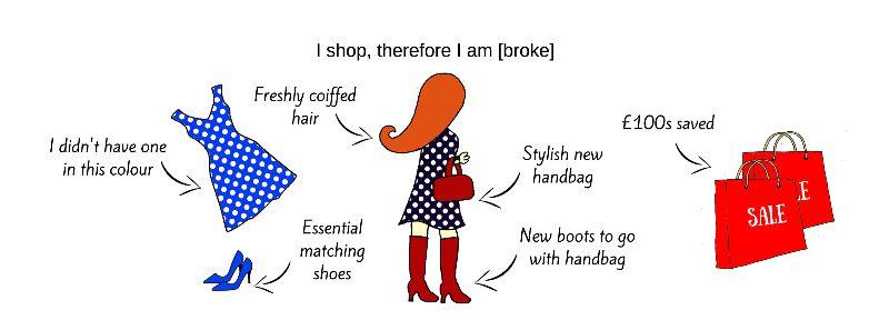 Shopping Girl  Redhead