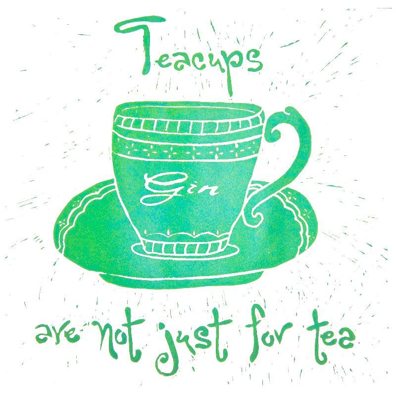 Gin Teacup