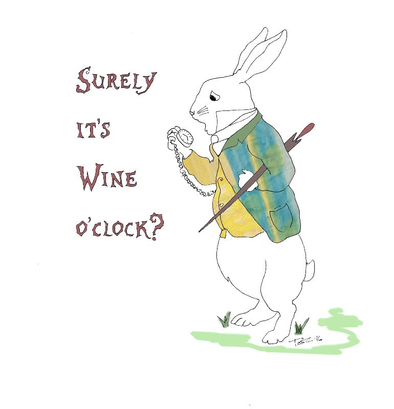 White Rabbit Wine Oclock