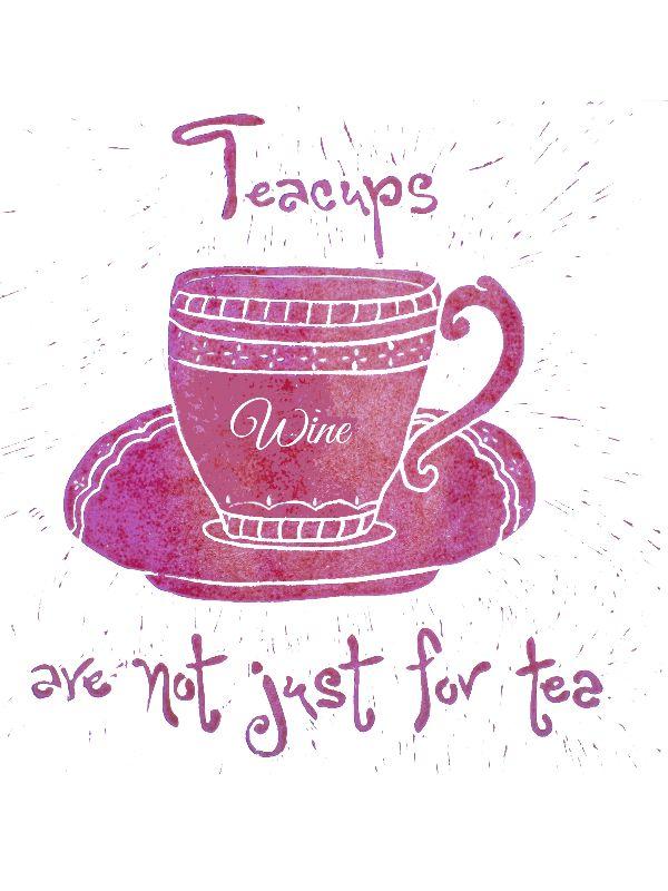 Wine Teacup