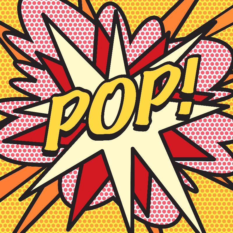 Comic Book Pop Art POP