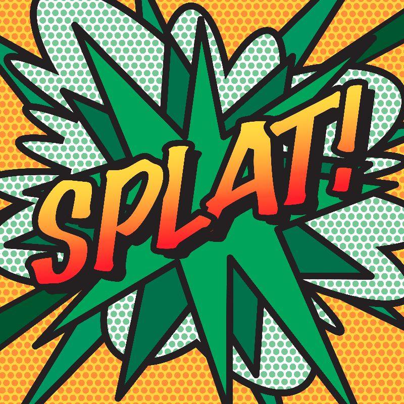 Comic Book Pop Art SPLAT