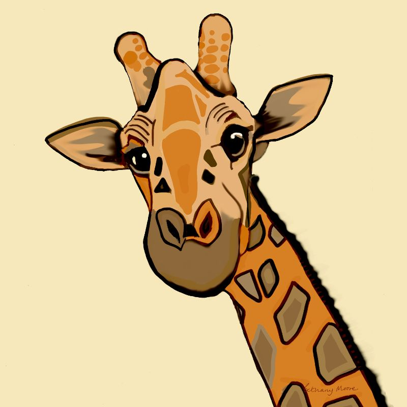Jolly Jaunty Giraffe