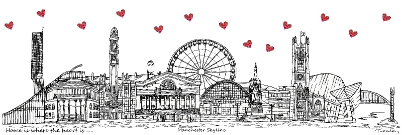 Manchester Skyline Hearts