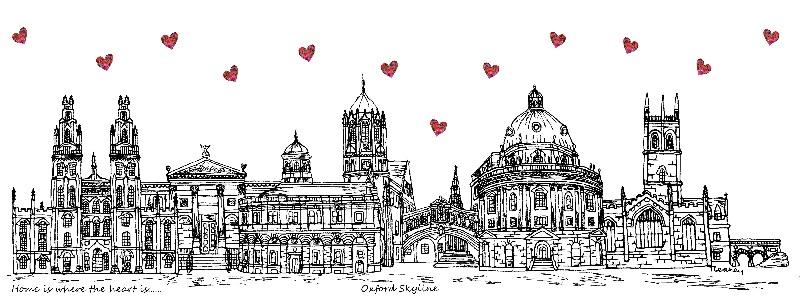 Oxford Skyline Hearts