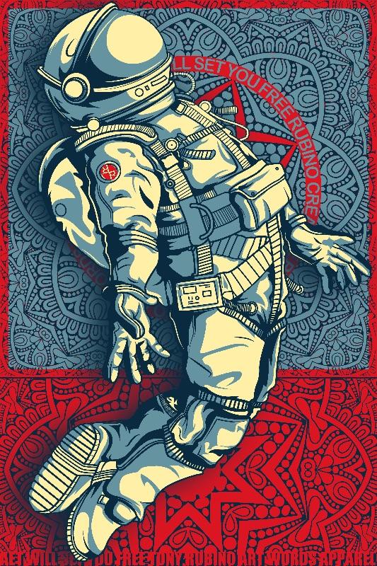 Rubino Astronaut Space