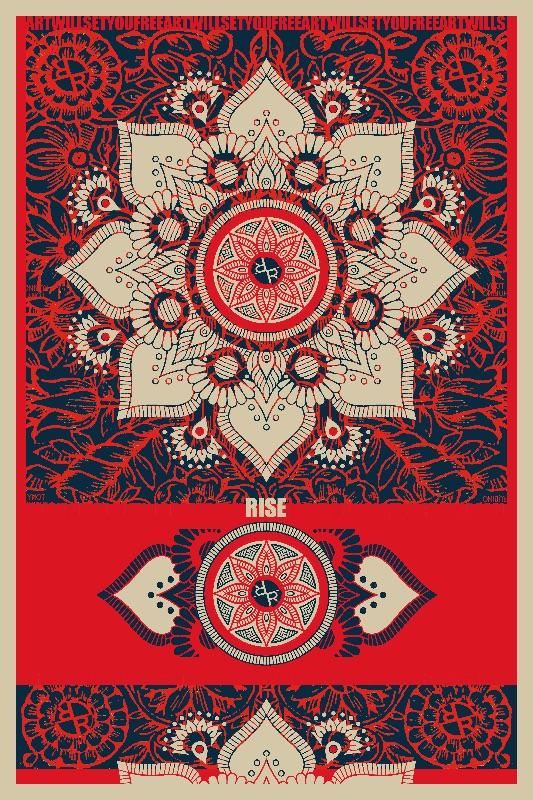 Rubino Red Zen Namaste