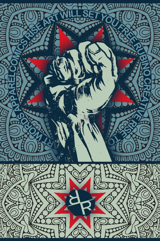 Rubino Rise Fist Mandala