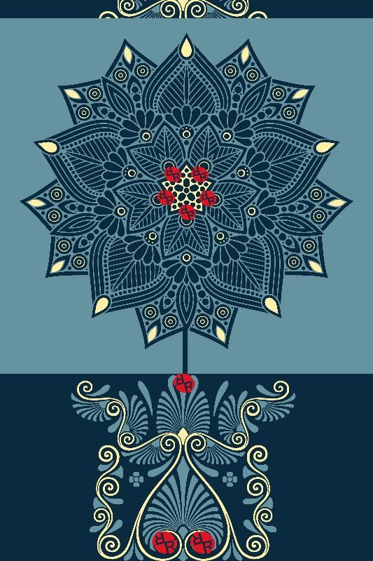 Rubino Zen Flower