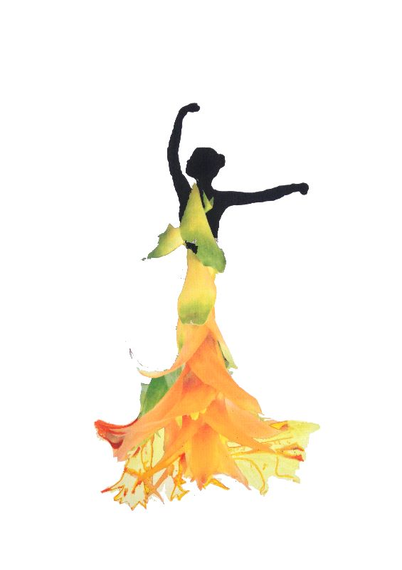 Dancing lady 1