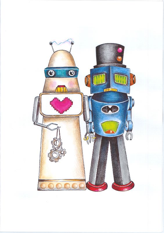 The Robots Wed