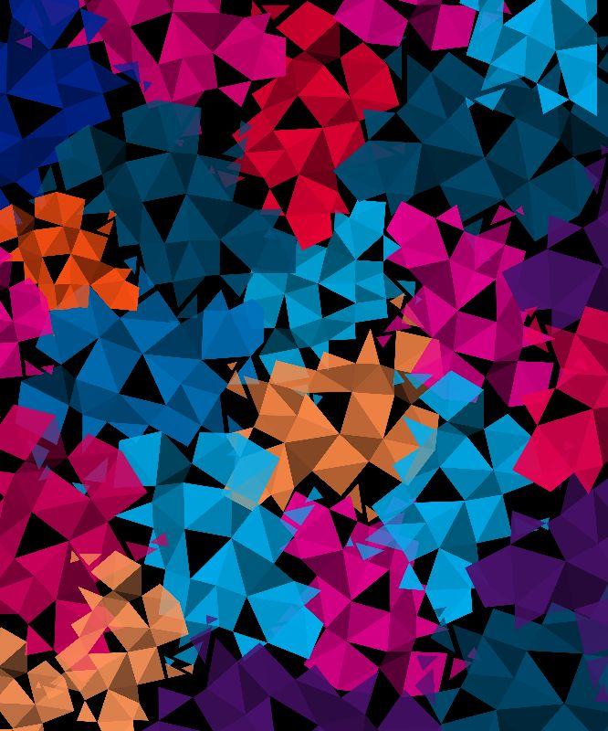 3D Geomatric Pattern