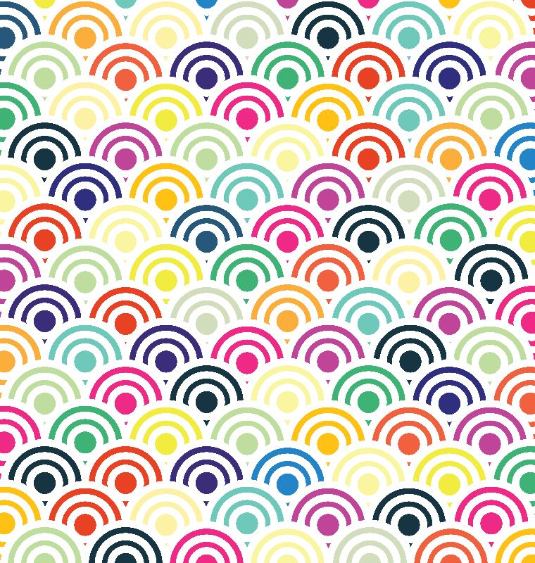 Colorful Circles V