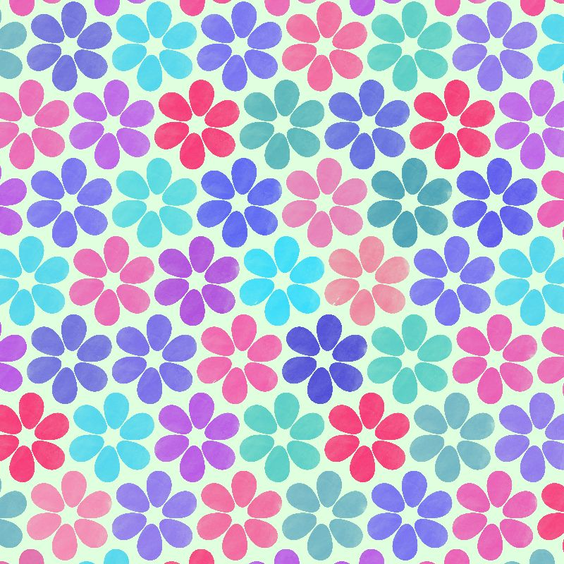 Colorful Floral Pattern 2