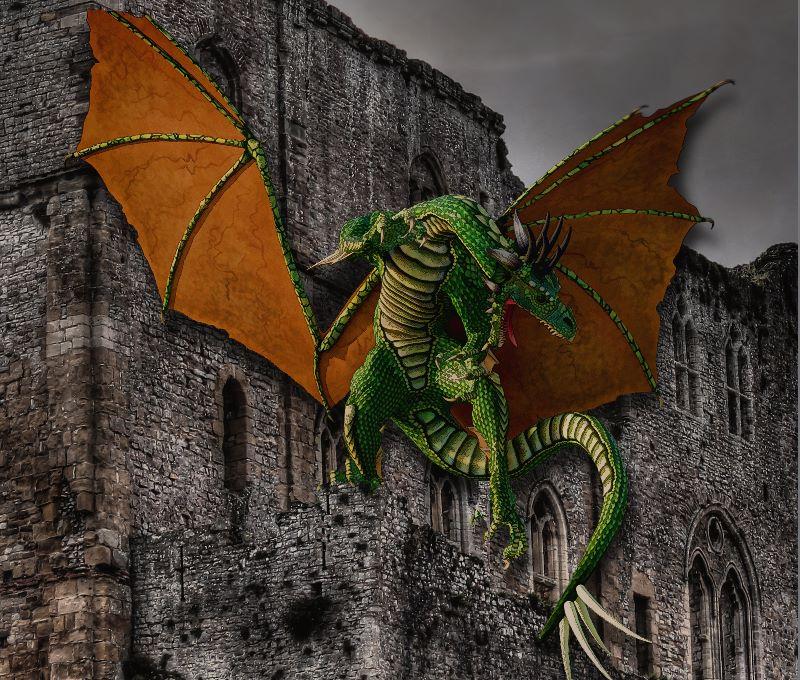 Dragon  Castle Artwork