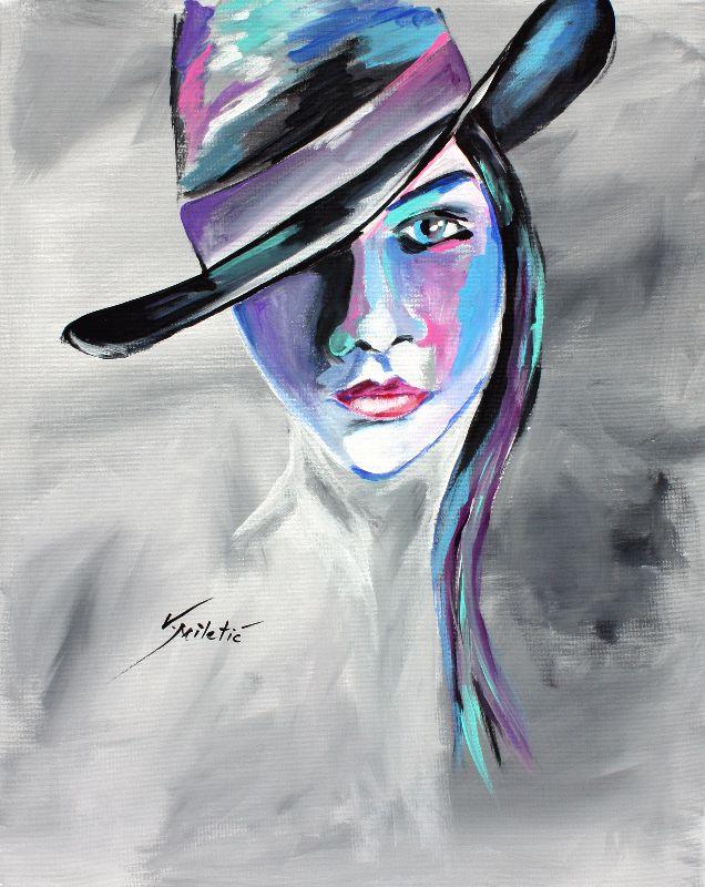 Bonnie  Cowgirl Art