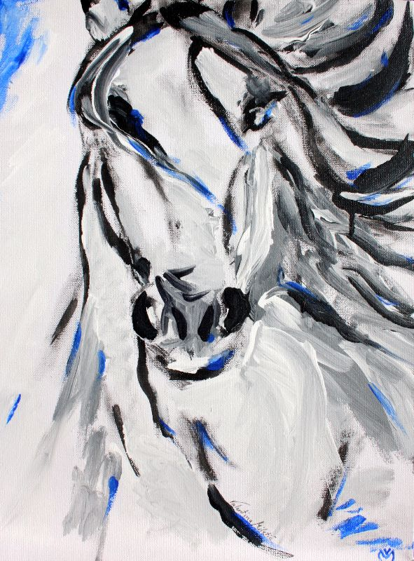Free Spirit  Horse Art