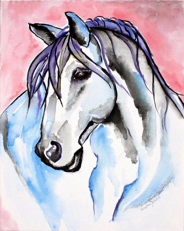 Lady Velvet Horse Art