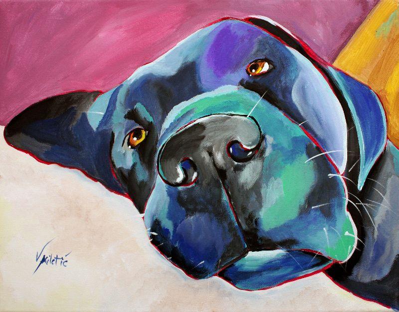 Luise Dog Art