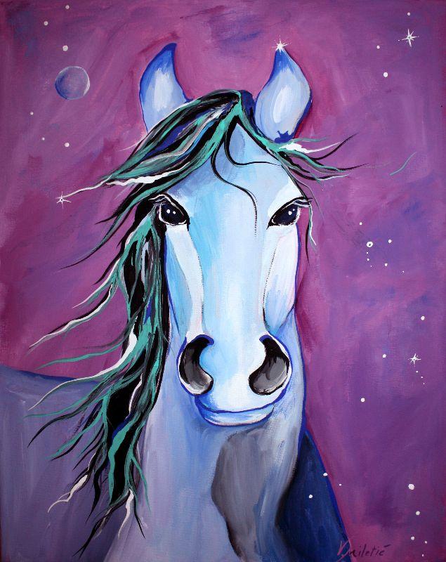 Stellar Whimsical Horse