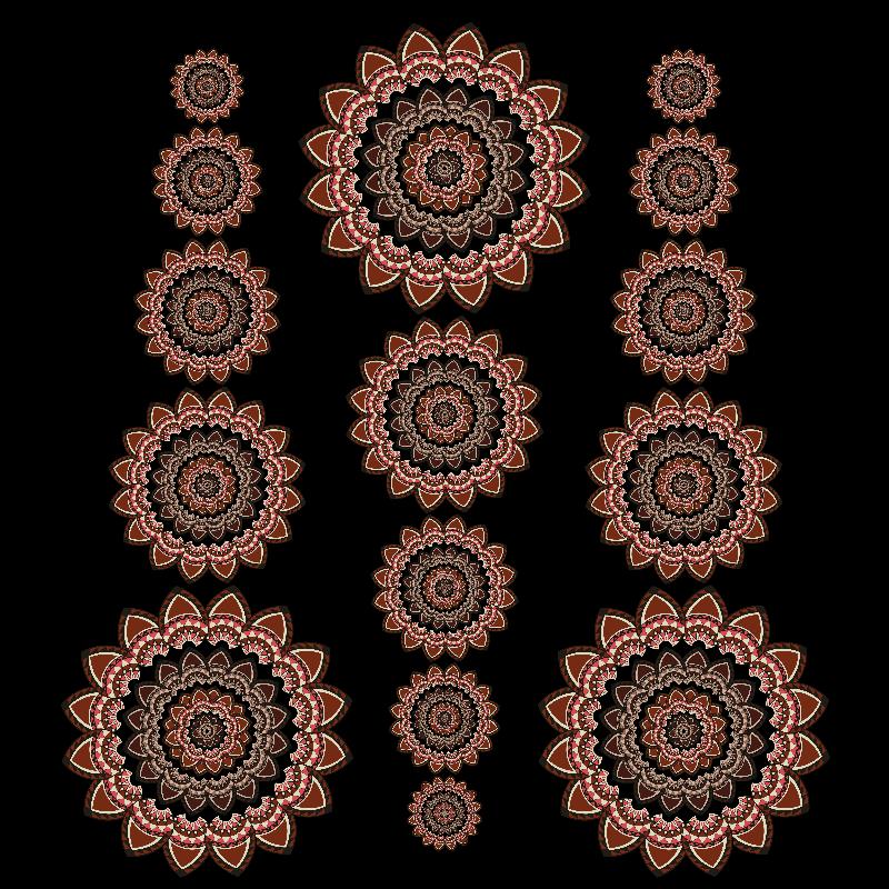 Mandalas  pattern