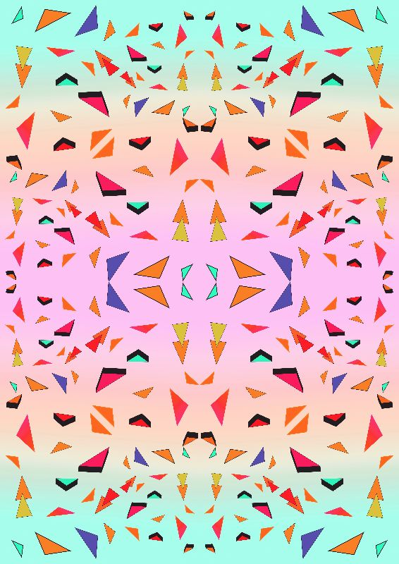 Candy tropical Triangles