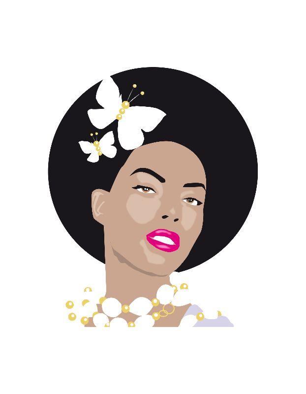 Afro Hair Girl