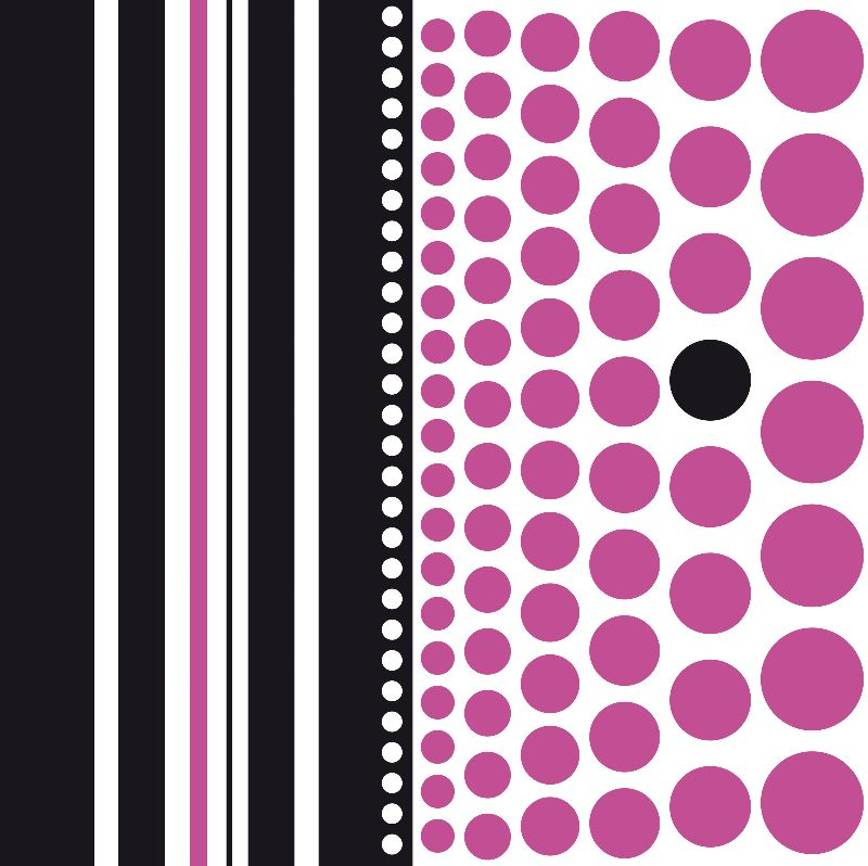 Spots and Stripes Purple