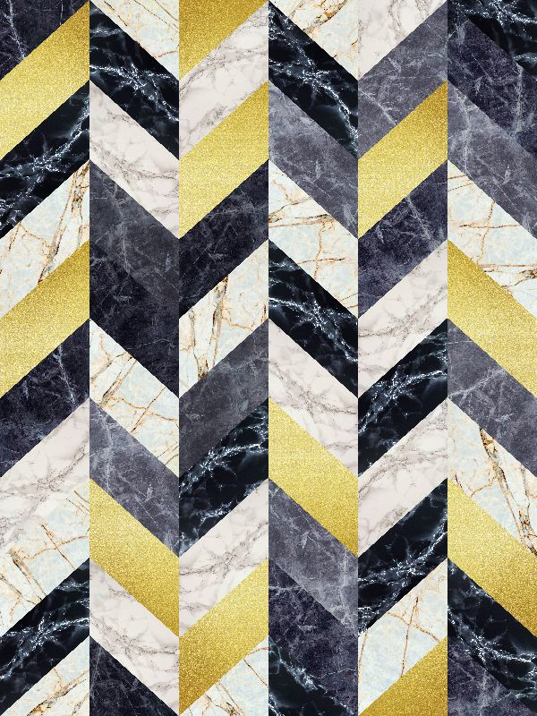 Marble and gold pattern