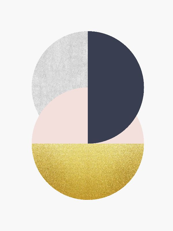 Minimalist and golden cir