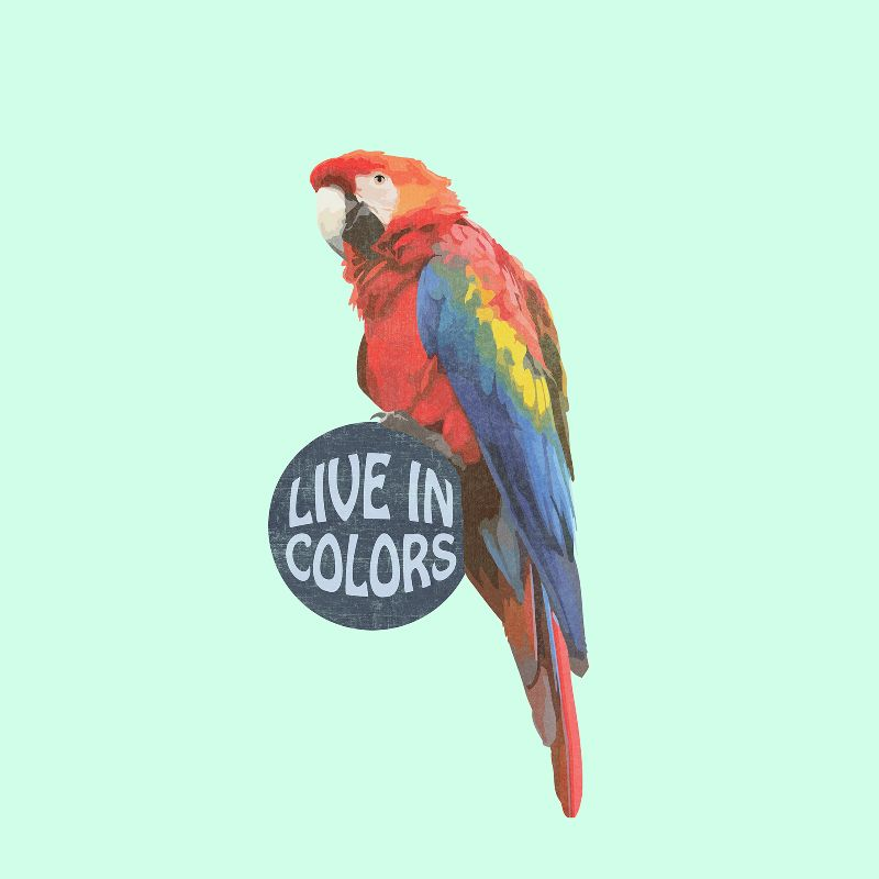 Parrot  Live in colors