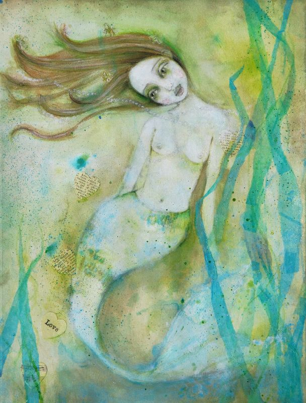 Serenity Mermaid in Green