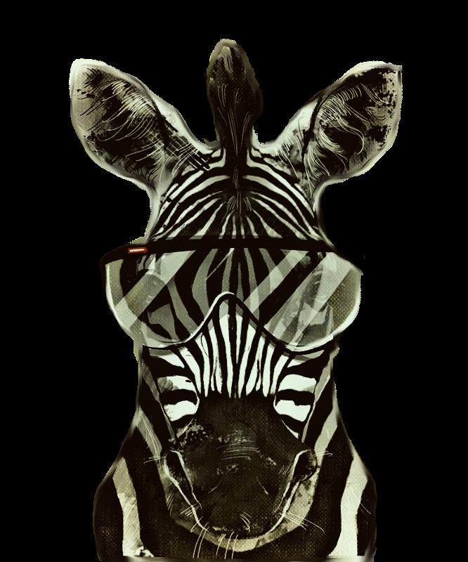 Hipster Zebra