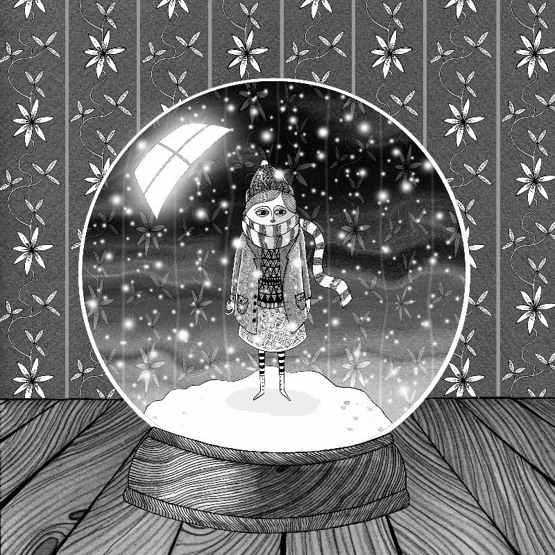 Girl in the Snow Globe